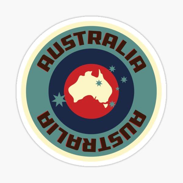Vintage Australia Logo Sticker