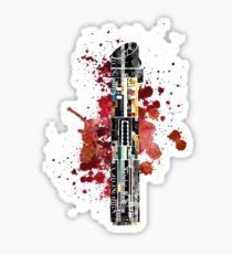 Darth Vader Lightsaber Sticker