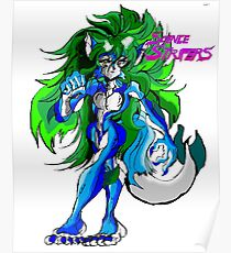 Science Strifer-Patricia the Water fox Poster