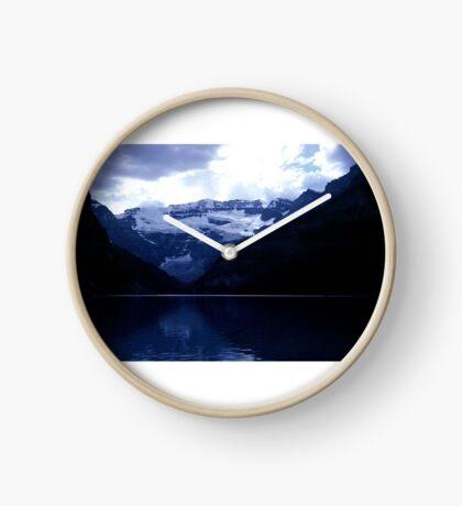The Splendor of Lake Louise Clock