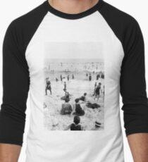 Long Beach California Vintage Photo, 1920s  Men's Baseball ¾ T-Shirt