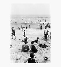 Long Beach California Vintage Photo, 1920s  Photographic Print