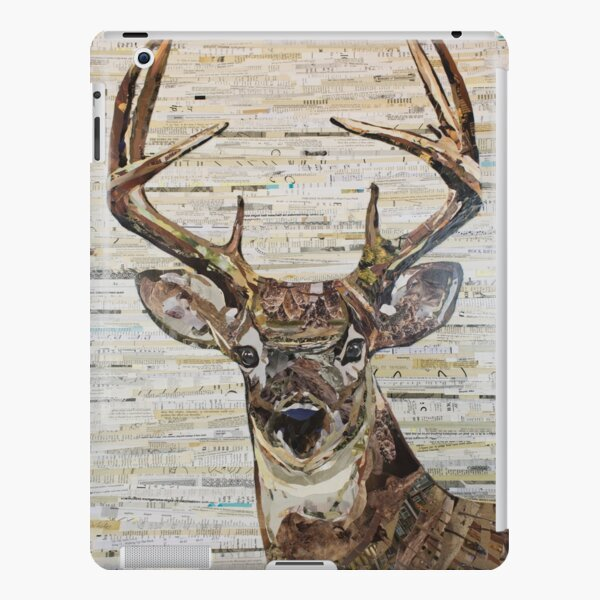 Whitetail Deer /Buck Collage by C.E. White iPad Snap Case