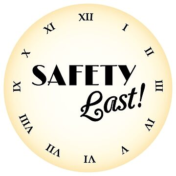 Safety Last Clock by emilyolive