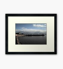 Hartlepools Pier and Lighthouse Framed Print