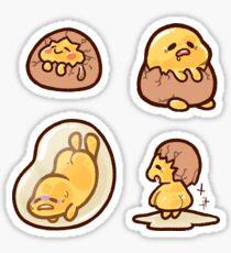 Lazy Gudetama Stickers Sticker