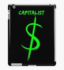 Capitalist $ iPad Case/Skin