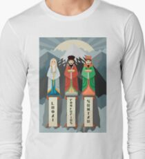 three great asian thinkers in mountains peak T-Shirt