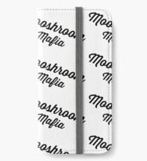 Mafia Signature in Black and White iPhone Wallet
