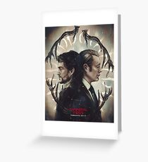 FANNIBAL FEST IDENTICALLY DIFFERENT OFFICIAL POSTER Greeting Card