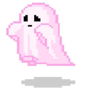Pink Ghost by erinaugusta