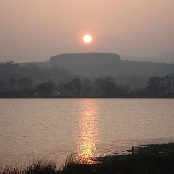 Bala Lake Sunset by Dreamcraft