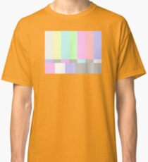 Pastel TV Bars Classic T-Shirt