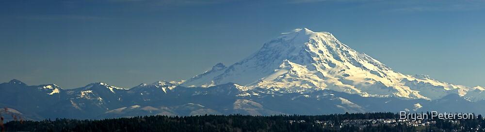Mount Rainier Panorama by Bryan Peterson