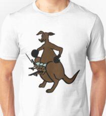 GunJack Kangaroo T-Shirt