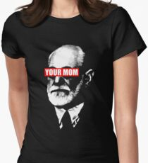 freud said your mom Women's Fitted T-Shirt