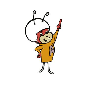 Atom Ant by Porcsy