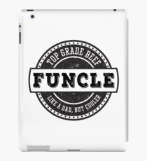 Top Grade Beef Funcle iPad Case/Skin