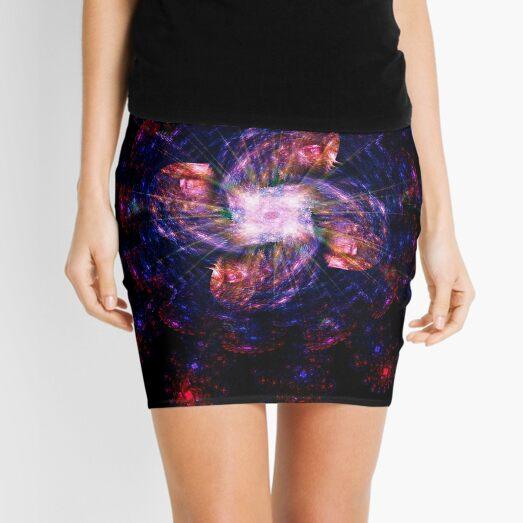 Atomic Headdress of The Sun ~ Fractal Art Mini Skirt