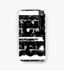 Bleed Freedom Black American Flag Samsung Galaxy Case/Skin