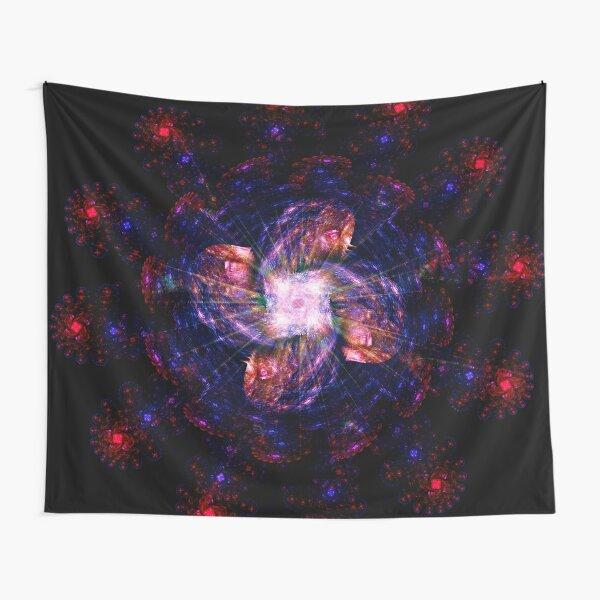 Atomic Headdress of The Sun ~ Fractal Art Tapestry