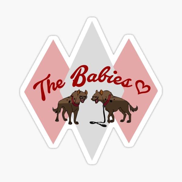 The Babies Sticker