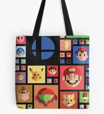 Super Smash bros 4 Tote Bag