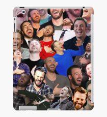 Chris Evans Laughing iPad Case/Skin