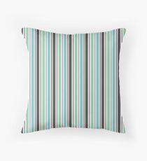 Vertical stripes 2  Throw Pillow