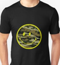 smile army pattern T-Shirt