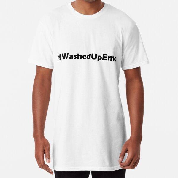 Verwaschen Emo Longshirt