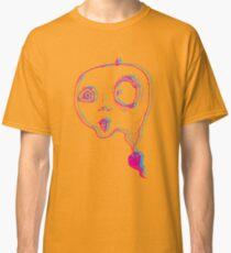 Trippy Alien Ghosts Classic T-Shirt