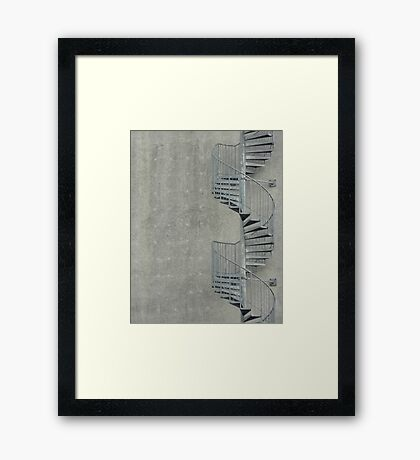 Stairs... Framed Print