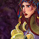 Iada and Tik Portrait by gurukitty