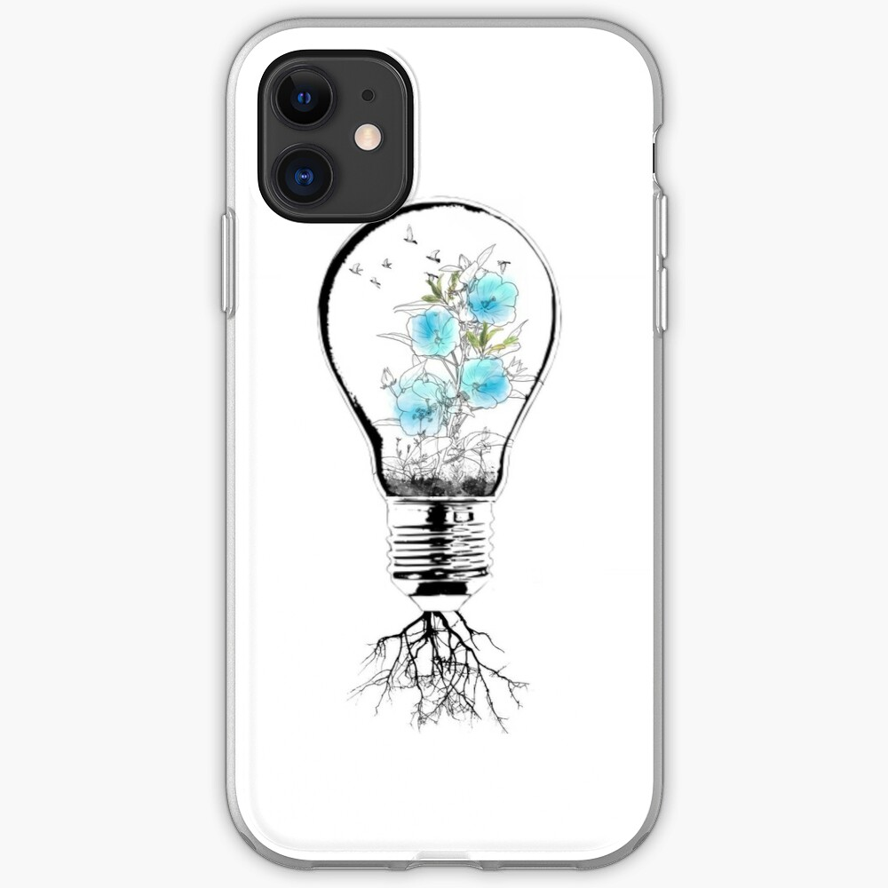 coque iphone 8 ampoule