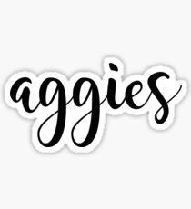 Texas A&M Aggies Sticker Sticker