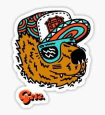 GRIZ - Funk Bear Sticker