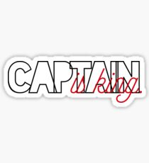 Captain is King Sticker