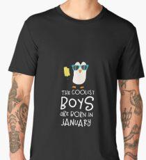 Coolest Boys Birthday in JANUARY Rcsuc Men's Premium T-Shirt