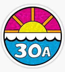 30A FLORIDA EMERALD COAST 30 A BEACH OCEAN VACATION Sticker
