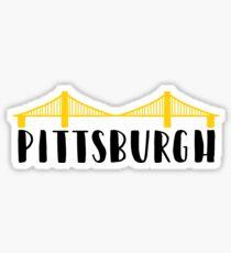 Pittsburgh City of Bridges Sticker
