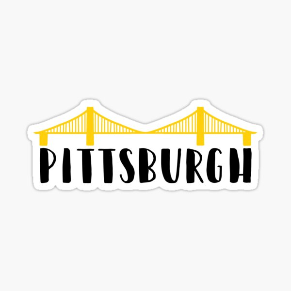 Pittsburgh City of Bridges Sticker