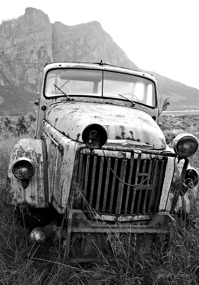 Old truck by peter jensen