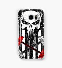 Skull Red Barbell Samsung Galaxy Case/Skin