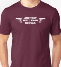 Camiseta unisex Sin miedo espacial marino