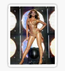 Beyonce Poster Sticker