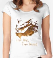 I am fire, I am Death Women's Fitted Scoop T-Shirt
