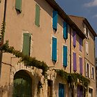 Colourful Shutters by Marylou Badeaux
