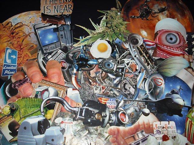 """Cyber-Bush""......(Detail) by atomikboy"