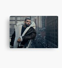 Drake Poster Canvas Print